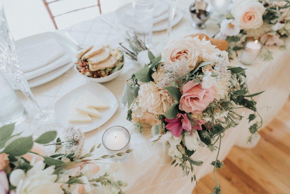 Deity Events Sweet Heart table