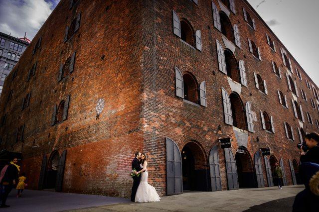 NYC wedding photography at the Deity in Brooklyn wedding venue